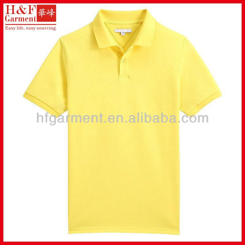 Yellow Polo Logo Bright Yellow Polo Shirts