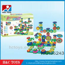 B/O Musical block,DIY building blocks(151pcs),Kids educational toy gears puzzle B/O bricks HC185243