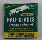 super stainless steel half blade for barber razor