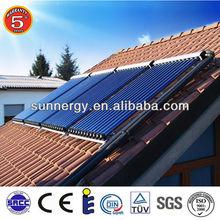 Stainless steel high heat absorbing solar panel