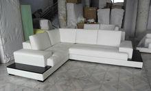 AD Furniure sofa 2013 New Design modern minimalist corner leather sofa living room furniture sofa Set 9111