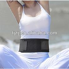 lumbar back support waist cinch belt adjustable
