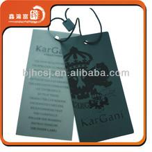 new fashion and design Clothing hang tag jeans hang tags designs garment hang tags