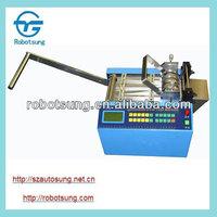 Hot & cold cut webbing/belt/ribbon cutting machine