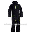 Waterproof sports one piece ski speed suit for men