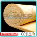 Resistente al calor de fibra de vidrio de aislamiento de espuma rollo/colorido de lana de vidrio aislante de sonido