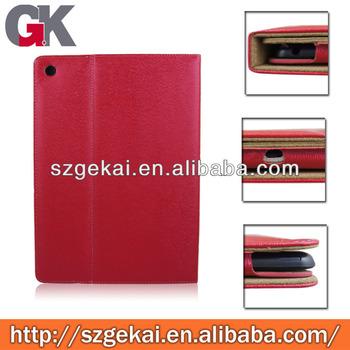 leather case for ipad5, for ipad leather case, leather flip case