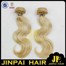 JP Hair High Quality Awsome Color Blonde White Human Hair Extension