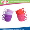 Set 4 eco-friendly silicone household cupcake decoration