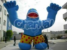 2013 promotional giant inflatable orangutan cartoon characters