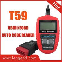 Favorable price CAN OBD2 auto code scanner /car diagnostic code reader with multi-language T59-retrieve VIN