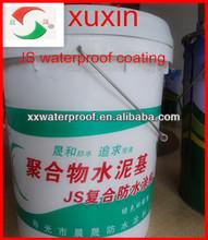 Polymer cement waterproof coating