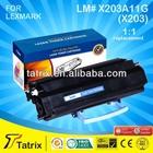 Black Toner Cartridge For Lexmark 203 CE SGS STMC ISO ROHS Approved