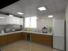 modern kitchen cabinet no handle
