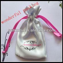 sheer mesh drawstring gift bags