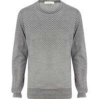 Men 100 Cotton Crew Neck Jersey Brand Sweatshirt