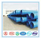 density of pvc pipe