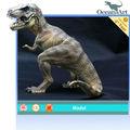 Venda topo!! Resina antigo baratos brinquedos do dinossauro