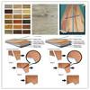 China Vinyl Wooden Waterproof Interlocking Flooring