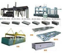 finished blocks sand block aac machinery/lightweight fly ash /sand AAC blocks machinery