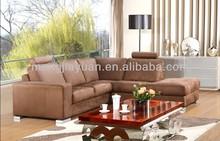 Classy Brown sofa in fabric