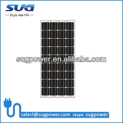 100% TUV Standard 150W mitsubishi solar panel