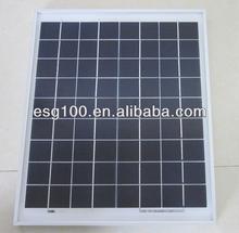 5W Polysilicon Portable Solar cell 156*156