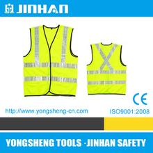 JINHAN red polyester mesh safety vest,reflective safety vest motorcycle