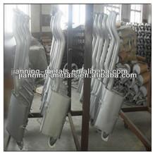 machine exhaust muffler used in car