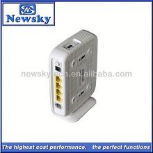 300M 4 port 2T2R ADSL 3g broadband wireless router