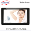 10 inch battery powered hot video player with motion snesor