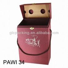 custom wine carrying case