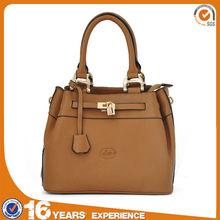 Liams factory direct supply western fashion 100% genuine leather brown handbag