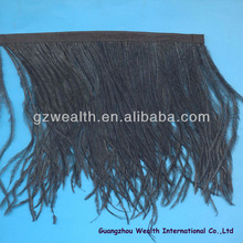 Latest style ostrich feather trim for garment &decoration