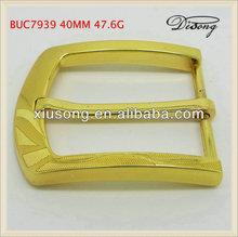 BUC7939 2013 fashion gold square belt buckle
