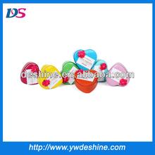 New wholesale peach hearts tin packing box TH-04