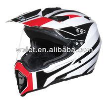 Dirt Bike Helmet wlt-128 New design White/5#