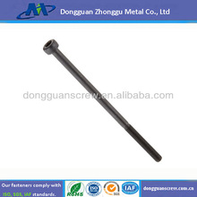 Class 12.9 Alloy Steel Socket Cap Screw, Black Oxide Finish, Internal Hex Drive