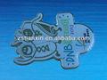 piloto de metal alas pin badge