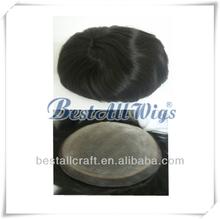 Afro Toupee Wig Toupees For Black Men Silicon Base Wigs