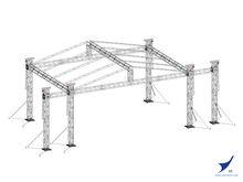 fashional aluminum howe truss space truss structure space truss ,howe truss for sale , truss frame