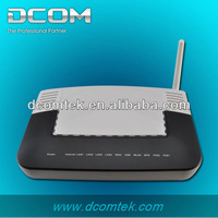 adsl2/2+ 4 port 24M modem ethernet gateway wireless voip router with 3g