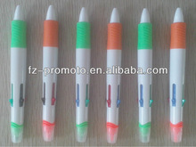 new designs promotional highlighter pen combo