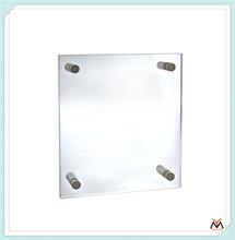 Clear Acrylic Sign Board With AD Screw,Wall-hanging Organicglass Logo Board,Silkscreen Plastic Company Board