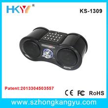 Portable Hifi MP3 Mini Speaker LCD Display+FM+TF SD