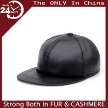 Hot Sell Euro Hip-hop Snapback Flat Bar Nightclub Women Men leather Baseball Hat Sun Cap wholesale