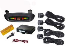 Car Rear 4 Parking Sensor System Car Video Parking Sensor Warning Parking Sensor