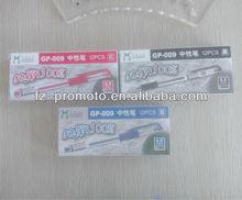 2014 fluorescent gel pen for promotion