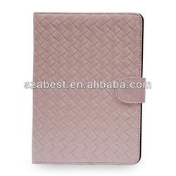 Knitting Pattern Leather Case For iPad Mini,Premium Leather Cover For Apple iPad Mini