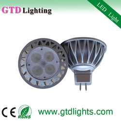 Hot 2013 5w mr16 gu10 spotlights 80lm/w warm white popular led mr 16 light 12v power supply